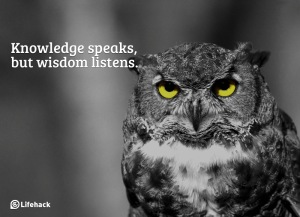 podcasts are full of knowledge and wisdom