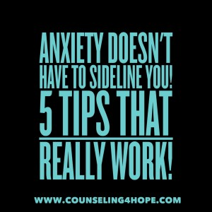 anxiety management tips