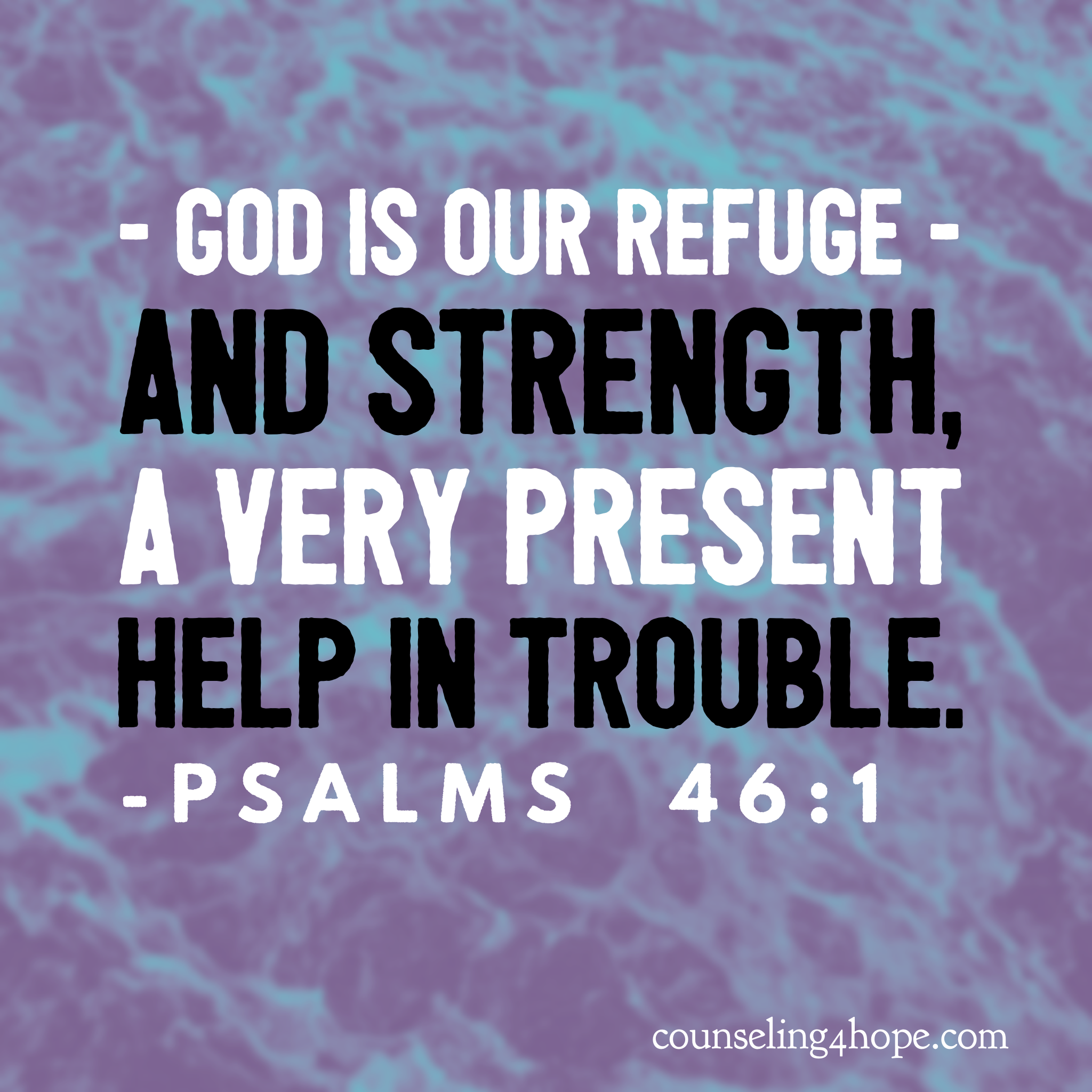 struggling? experiencing trouble? need a very present help??