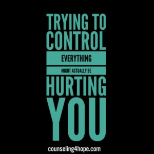 Trying to Control Everything May Actually be Hurting You